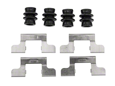 Rear Disc Brake Hardware Kit (05-11 All)