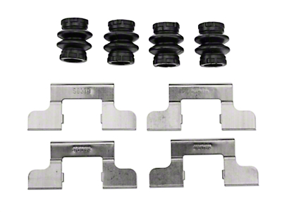 Rear Disc Brake Hardware Kit (05-11 All)