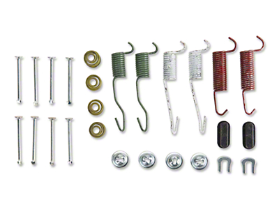 Rear Brake Drum Hardware Kit  (79-93 All)