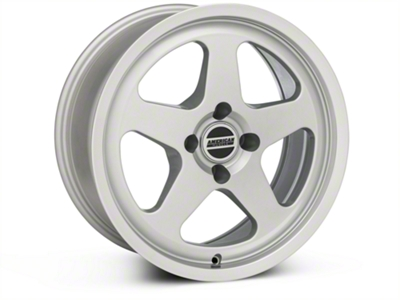 SC Style Silver Wheel - 17x8 (87-93; Excludes 93 Cobra)