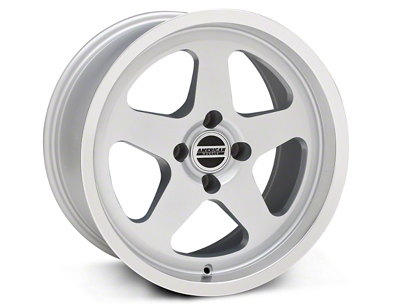 SC Style Silver Wheel - 17x9 (87-93; Excludes 93 Cobra)