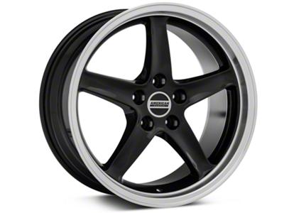 Deep Dish 1995 Cobra R Style Black Wheel - 18x9 (94-04 All)