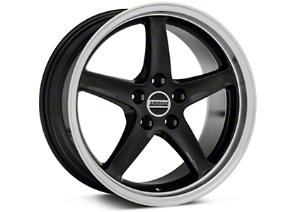 Black Deep Dish 1995 Style Cobra R - 18x9 (94-04 All)