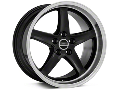 Deep Dish 1995 Cobra R Style Black Wheel - 18x10 (94-04 All)