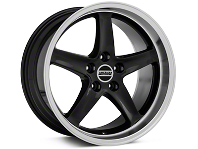 Black Deep Dish 1995 Style Cobra R - 18x10 (94-04 All)