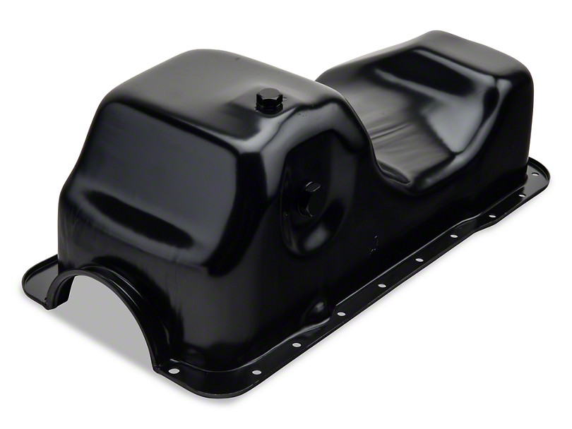 Replacement Oil Pan w/ Low Oil Sensor Port (84-95 5.0L)