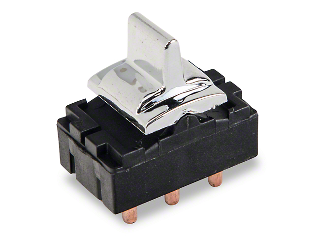Power Window Switch - Chrome (79-86 All)