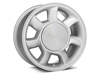 93 Cobra Style Silver Wheel LH - 17x8.5 (87-93; Excludes 93 Cobra)