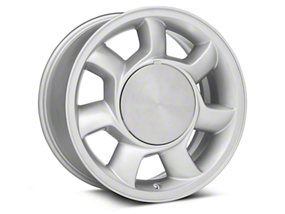 93 Cobra Style Silver Wheel Right Side - 17x8.5 (87-93; Excludes 93 Cobra)