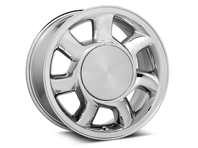 93 Cobra Style Chrome Wheel Left Side - 17x8.5 (87-93; Excludes 93 Cobra)