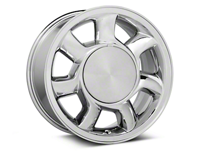 93 Cobra Style Chrome Wheel LH - 17x8.5 (87-93; Excludes 93 Cobra)