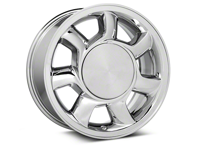 93 Cobra Style Chrome Wheel Right Side - 17x8.5 (87-93; Excludes 93 Cobra)