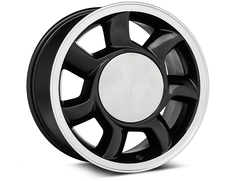 93 Cobra Style Black Wheel Right Side - 17x8.5 (87-93; Excludes 93 Cobra)