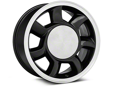 93 Cobra Style Black Wheel RH - 17x8.5 (87-93; Excludes 93 Cobra)