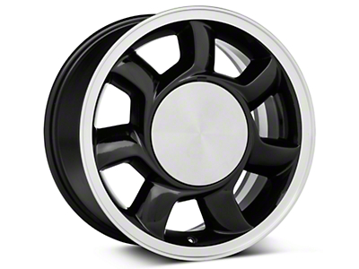 93 Cobra Style Black Wheel LH - 17x8.5 (87-93; Excludes 93 Cobra)