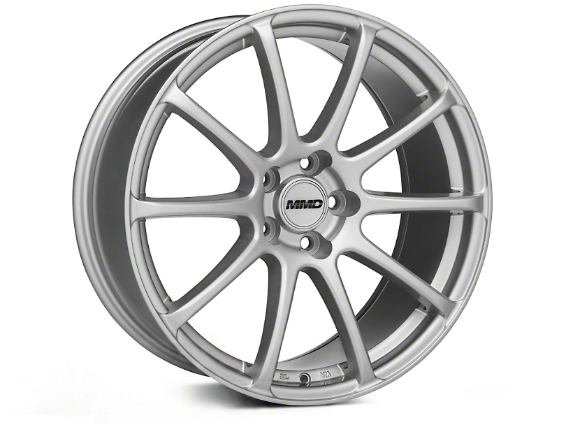 MMD Axim Silver Wheel - 19x8.5 (05-14 All)