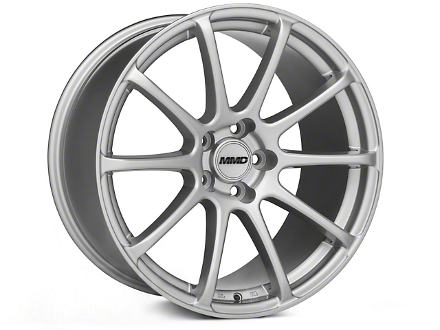 MMD Axim Silver Wheel - 19x10 (05-14 All)