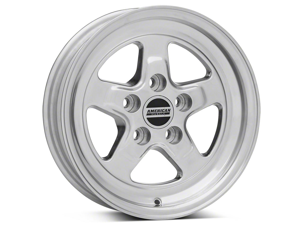 Drag Polished Wheel - 15x4 (94-04)