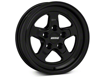 Drag Black Wheel - 15x4 (94-04 GT, V6)