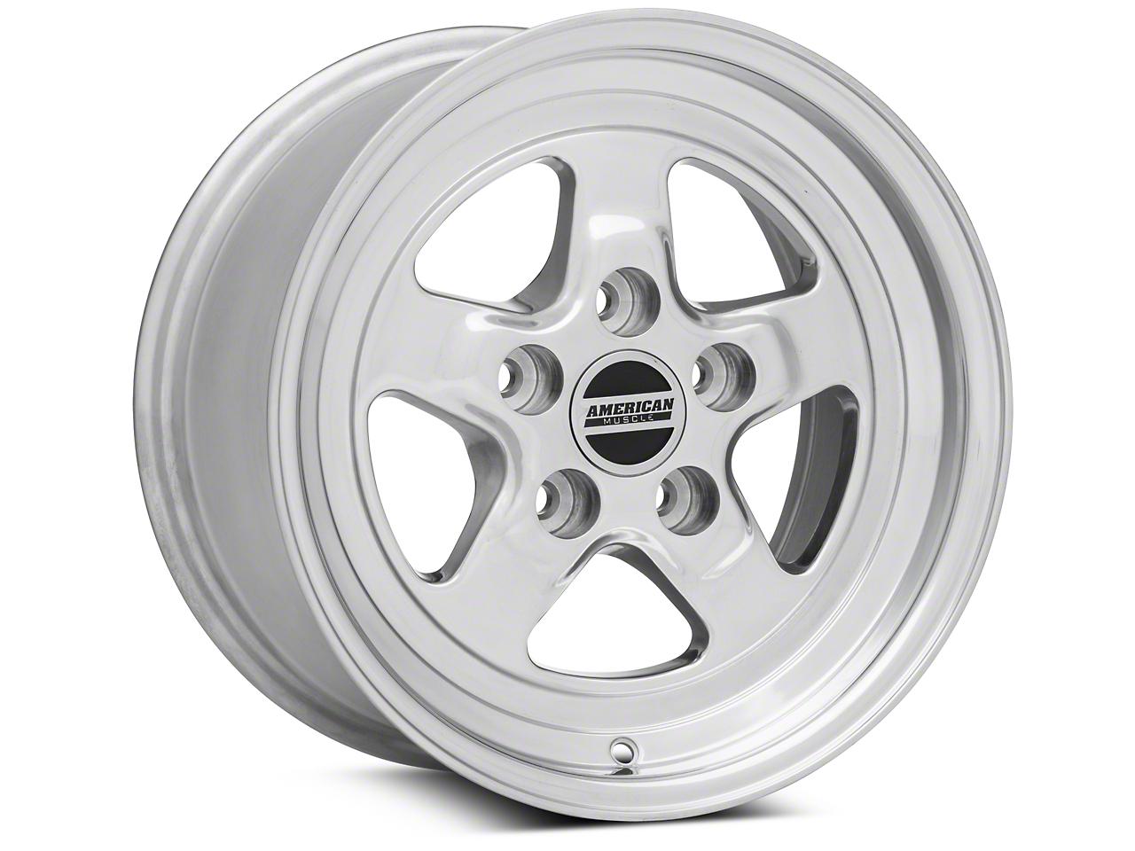 Drag Polished Wheel - 15x8 (94-04 GT, V6)