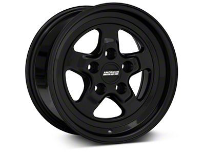 Drag Black Wheel - 15x8 (94-04 GT, V6)