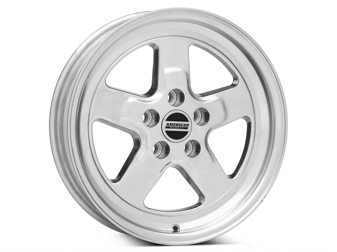 Drag Polished Wheel - 17x4 (94-04 All)