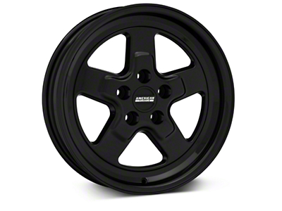 Drag Black Wheel - 17x4 (94-04 All)
