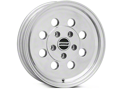 Classic Drag Polished Wheel - 15x4 (94-04 GT, V6)