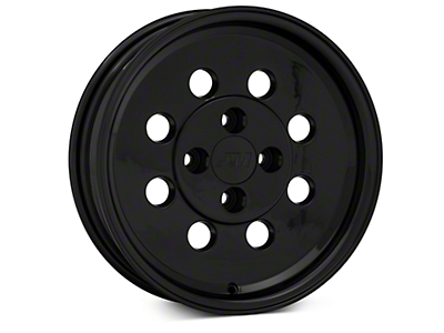 Classic Drag Black Wheel - 15x4 (79-93; Excludes 93 Cobra)
