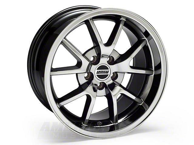 Deep Dish FR500 Style Black Chrome Wheel - 18x10 (94-04 All)