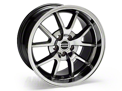 Black-Chrome Deep Dish FR500 Wheel - 18x10 (94-04 All)