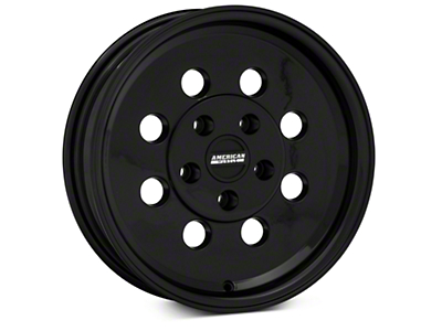 Classic Drag Black Wheel - 15x4 (94-04 GT, V6)