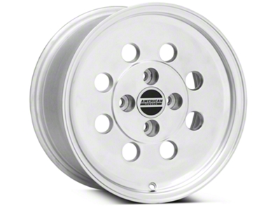 Classic Drag Polished Wheel - 15x8 (79-93; Excludes 93 Cobra)