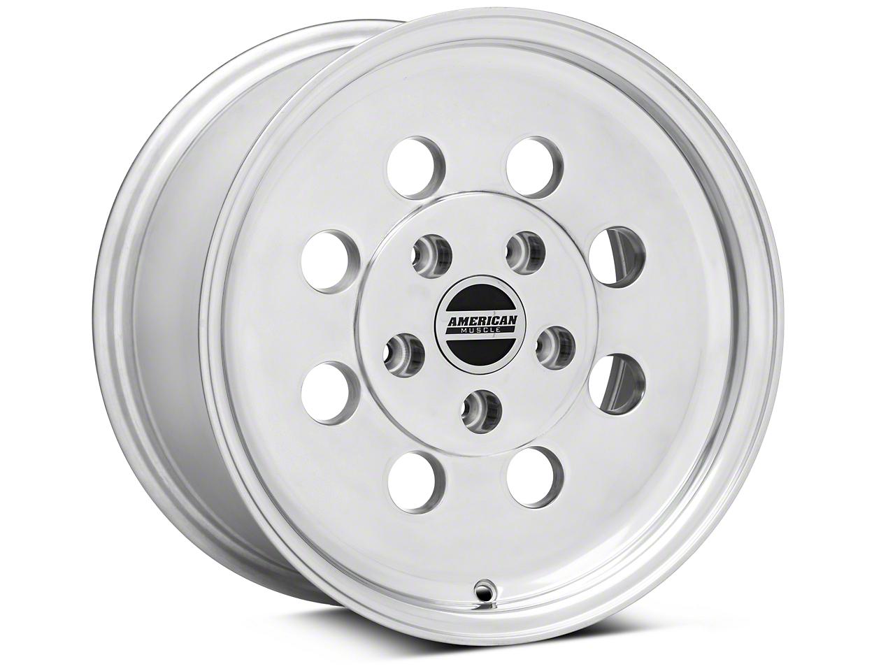 Classic Drag Polished Wheel - 15x8 (94-04 GT, V6)