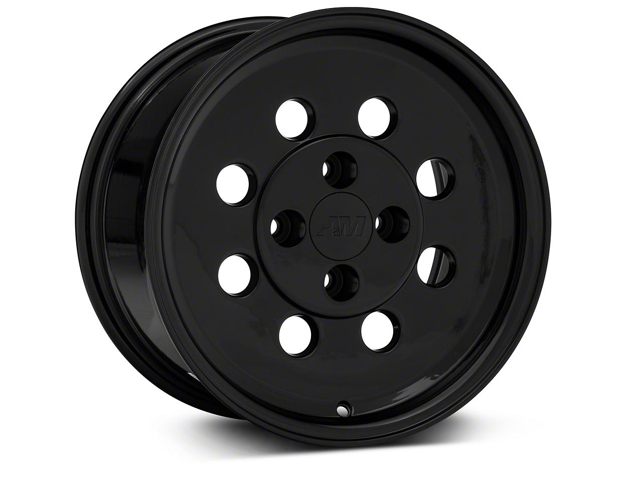 Classic Drag Black Wheel - 15x8 (79-93; Excludes 93 Cobra)