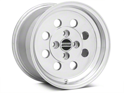 Classic Drag Polished Wheel - 15x10 (79-93; Excludes 93 Cobra)