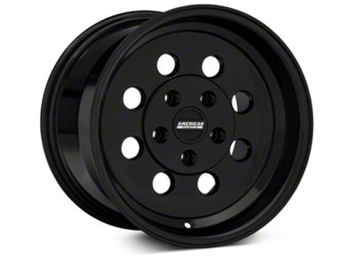 Classic Drag Black Wheel - 15x10 (94-04 GT, V6)