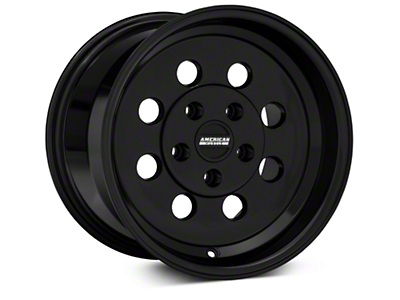 Classic Drag Black Wheel - 15x10 (94-04 GT, V6)