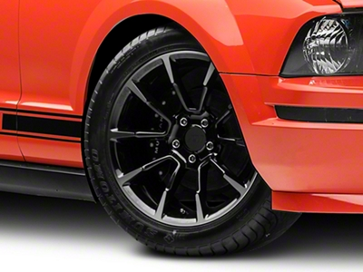 2011 GT/CS Style Black Machined Wheel - 18x9 (05-14 GT, V6)