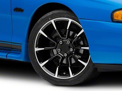 11/12 GT/CS Style Black Machined Wheel - 18x9 (94-04 All)