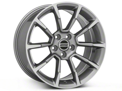 11/12 GT/CS Style Anthracite Wheel - 18x9 (05-14 GT, V6)