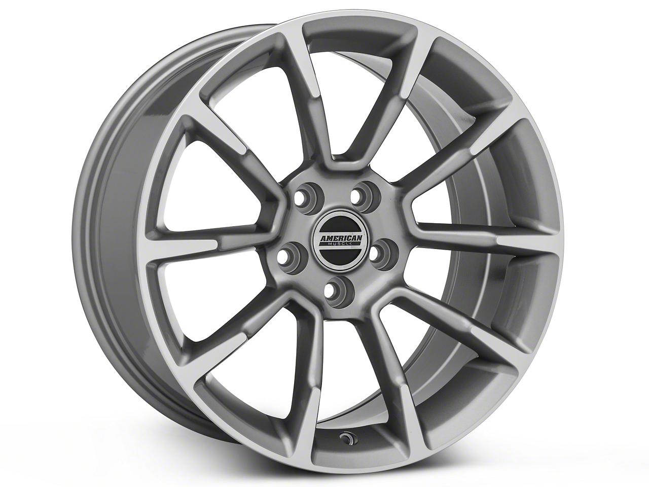 11/12 GT/CS Style Anthracite Wheel - 18x9 (05-14 GT, V6)