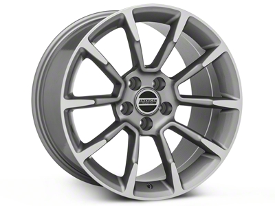 11/12 GT/CS Style Anthracite Wheel - 18x10 (05-14 GT, V6)
