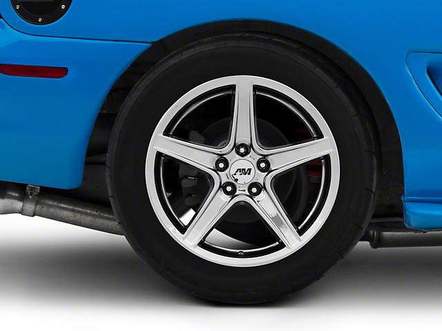Saleen Style Black Chrome Wheel - 18x10 (94-04 All)