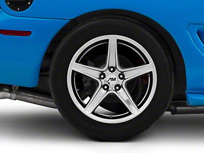 Saleen Style Black Chrome Wheel - 18x10 (94-04 All)