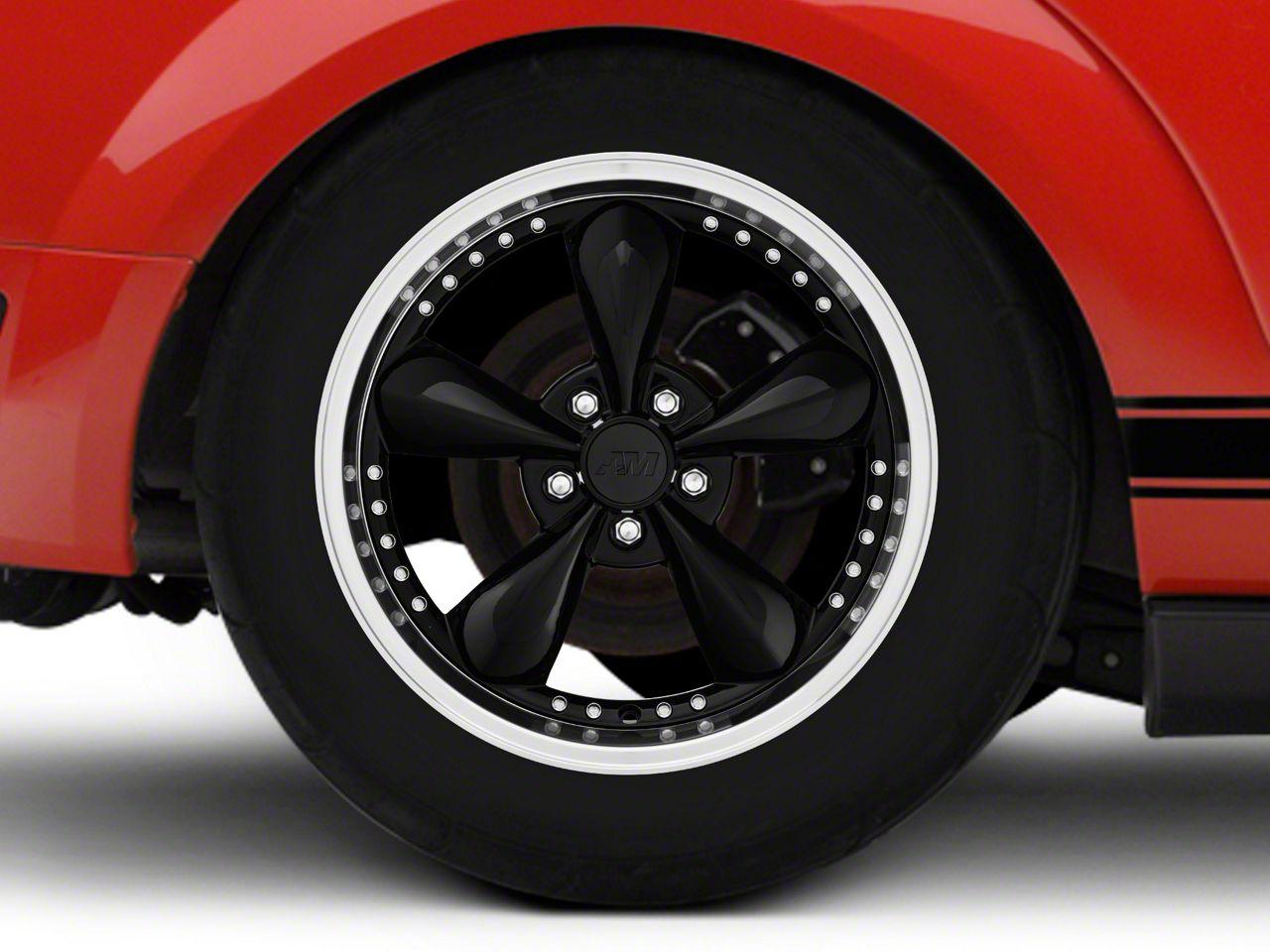 Add Bullitt Motorsport Black Wheel - 18x10 (05-14 GT, V6)
