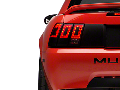 Tail Light Conversion Decal - Matte Black (99-04 All)