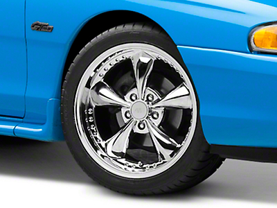 Chrome Bullitt Motorsport Wheel - 18x9 (94-04 All)