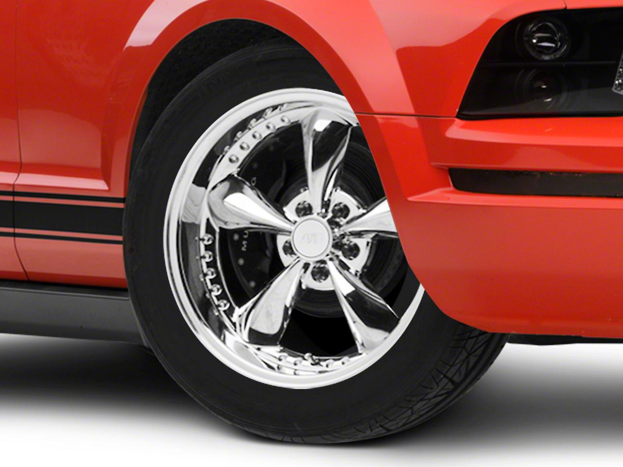 Bullitt Motorsport Chrome Wheel - 18x9 (05-14 GT, V6)