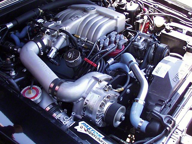 Paxton Novi 1220SI Supercharger System - Satin (86-93 5.0L)